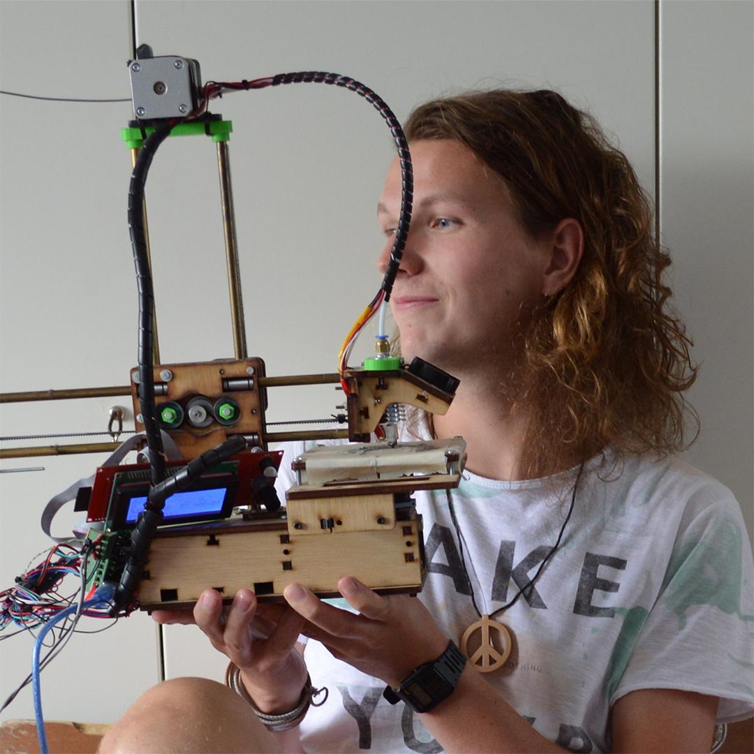 Olivier Gossink 3D printer