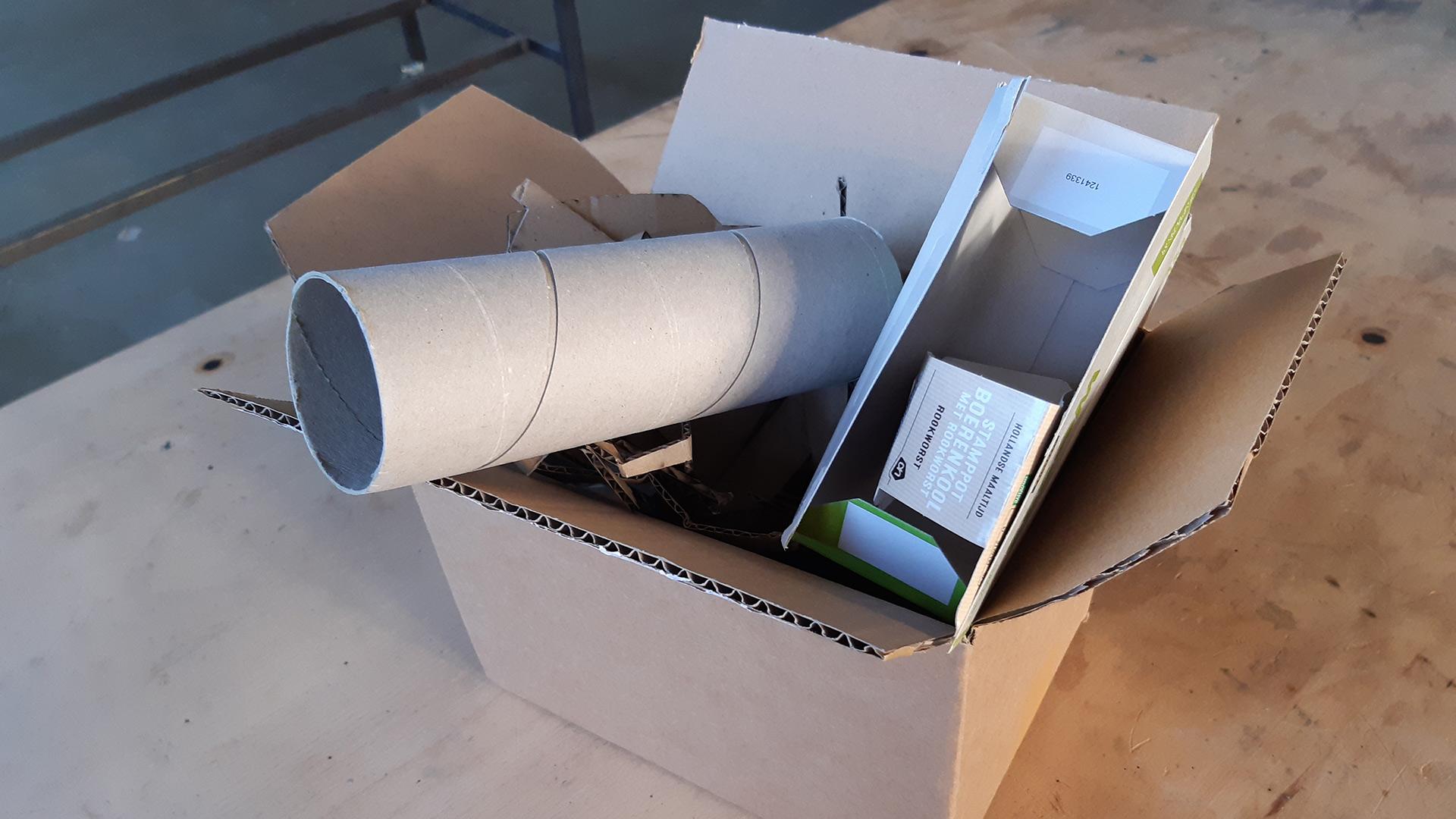 Oud papier Bonax Project Shelduck.co